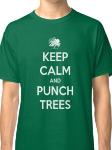 Keep calm and punch trees design. Classic T-Shirt