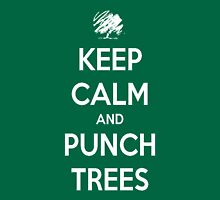 Keep calm and punch trees design. Unisex T-Shirt