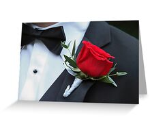 Groom's Bloom Greeting Card