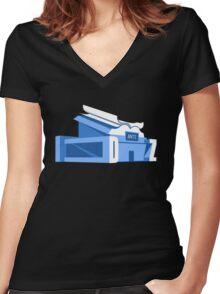 Center For Ants - Zoolander Women's Fitted V-Neck T-Shirt