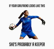Hope Solo - She's Probably a Keeper T-Shirt