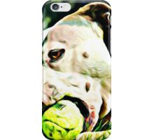 Pit Bull Rescue Beauty iPhone Case/Skin
