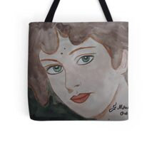 The woman from the market Tote Bag