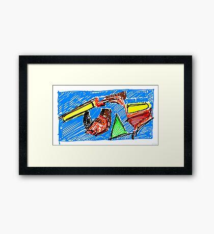 Enfance 2 [Childhood 2] Framed Print