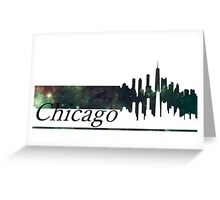 Skyline Chicago Greeting Card