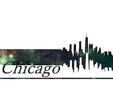 Skyline Chicago Photographic Print