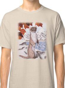 Weasel in Fall Classic T-Shirt
