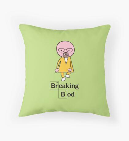 Breaking Bod Throw Pillow