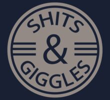 Shits and Giggles. Baby Humor Kids Clothes