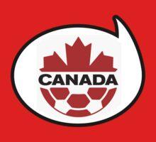 Canada Soccer / Football Fan Shirt / Sticker by funaticsport