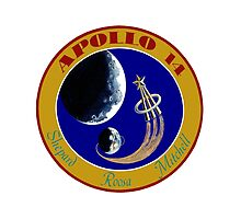 Apollo 14 Mission Logo by MGR Productions