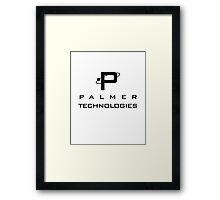 Palmer Tech Framed Print