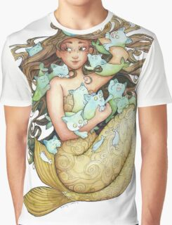 Mer Kittens Graphic T-Shirt
