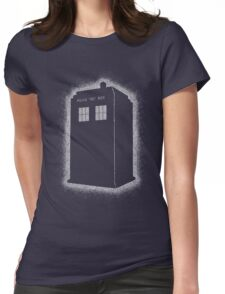 Dotty Tardis Womens Fitted T-Shirt