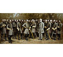 Robert E. Lee and His Generals Photographic Print