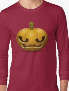 haloween citrouille Long Sleeve T-Shirt