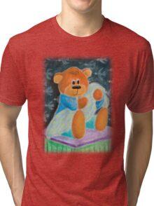 Baby Toy Bear Tri-blend T-Shirt