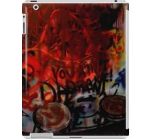 Spray Booth iPad Case/Skin