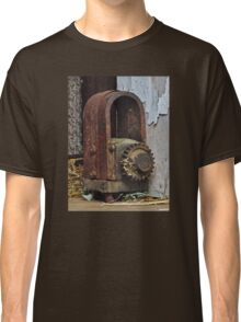 Old Machinery Found in Wisconsin Dairy Barn Classic T-Shirt