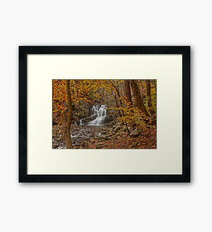 Indian Brook Waterfalls Framed Print