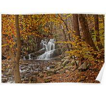 Indian Brook Waterfalls Poster