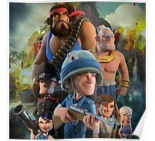 boom beach (team) 4 Poster