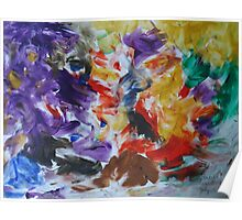 Abstract painting.... Poster