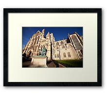 York Minster wide angle photo Framed Print