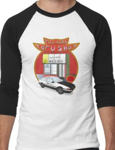 Initial D- Fujiwara Tofu Shop Men's Baseball ¾ T-Shirt