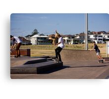 Fakie Ollie To Fakie Manual Canvas Print