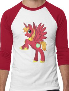 Big Macintosh Alicorn MLP Men's Baseball ¾ T-Shirt