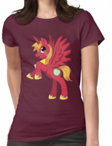 Big Macintosh Alicorn MLP Womens Fitted T-Shirt