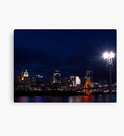 Cincinnati Skyline 3 Canvas Print