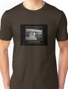 Courage -- D Day Poster Unisex T-Shirt