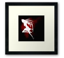 Ransomed Wings - Fight the Good Fight Framed Print