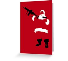 Bad Santa Greeting Card