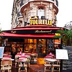 Paris Cafe 1 by David Mapletoft