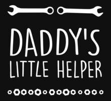 Daddy's little helper Kids Tee