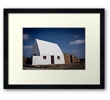 The White House, Jersey Framed Print