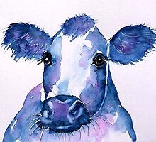 Blue Cow 1 by Croftsie