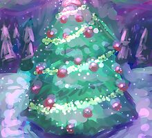 Christmas Tree by cjordanartist