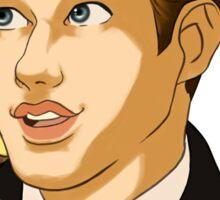 """Todd Anderson """"Carpe Diem"""" Sticker"""