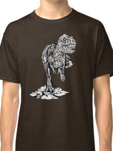 Zombie T-Rex Classic B/W Classic T-Shirt