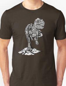 Zombie T-Rex Classic B/W T-Shirt