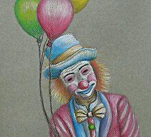 Birthday Clown by thuraya arts