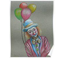Birthday Clown Poster