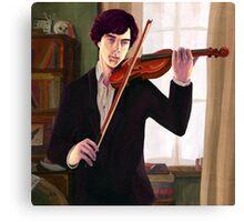 Sherlock: Violin Canvas Print