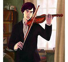 Sherlock: Violin Photographic Print