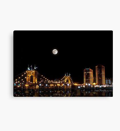 Kentucky Skyline Canvas Print