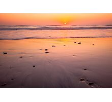 Terramar Beach Sunset Photographic Print